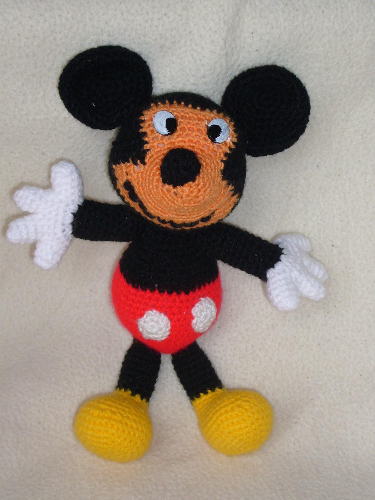 Más fácil de lo que creías: Mickey Mouse amigurumi