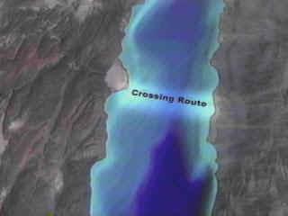 Zona donde cruzó Israel el Mar Rojo
