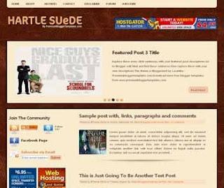 artle Suede Blogger Template