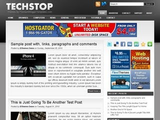 TechStop Blogger Template