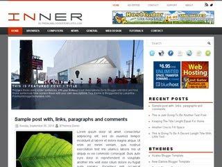 Inner Blogger Template