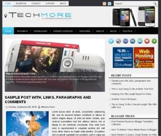 TechMore Blogger Template