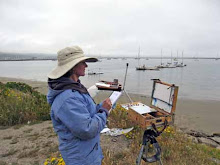 Painting in Half Moon Bay