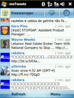 moTweets, Twitter Aplication For Windows Mobile.