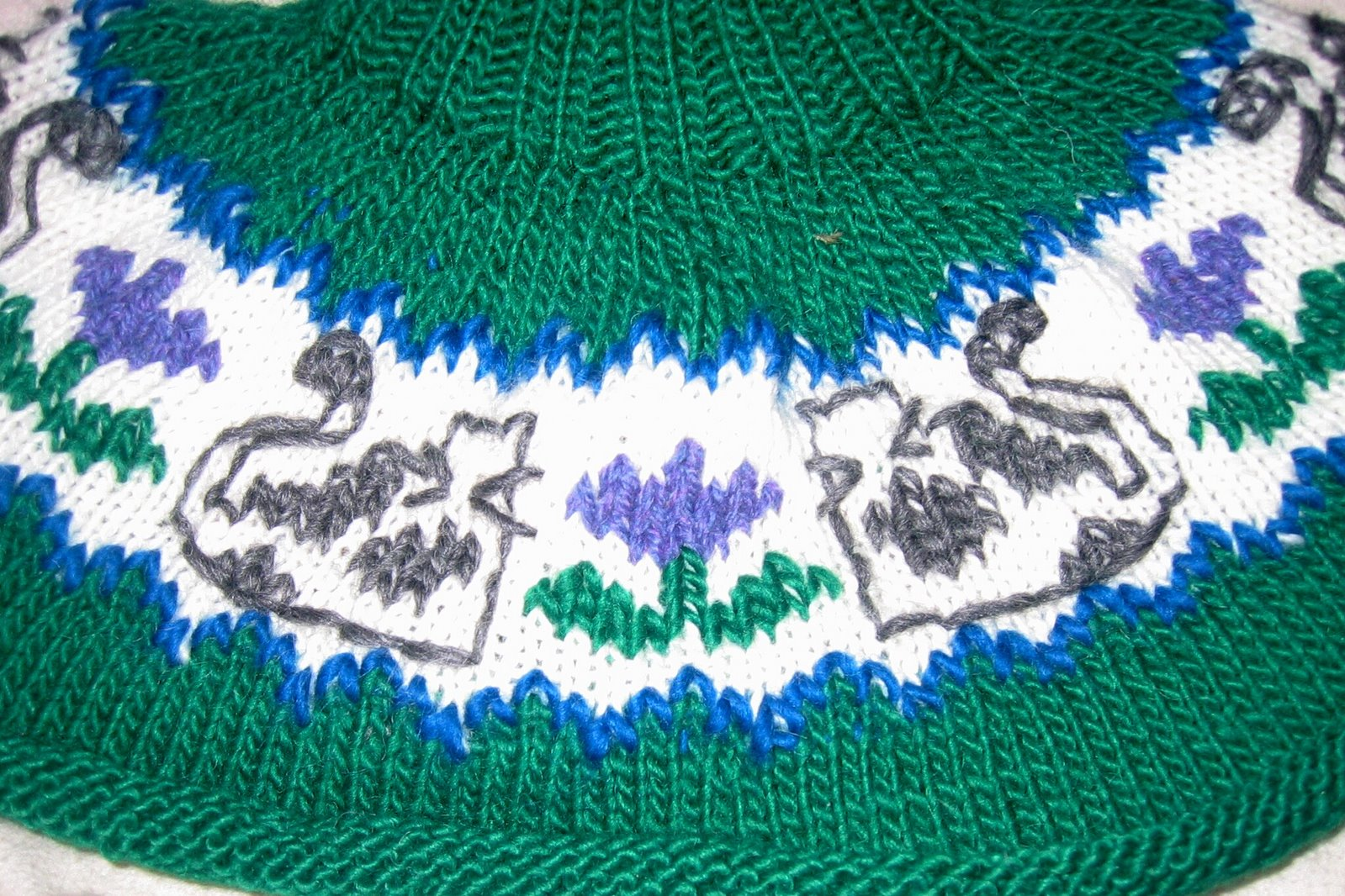 Duplicate Stitch Patterns For Knitting : Knitting Outside the Lines: Intarsia versus Duplicate Stitch