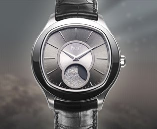 Modern Piaget Emperador Cushion Grande Luna Watch