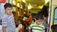 El Biblio-BUS en Santa Rosa...