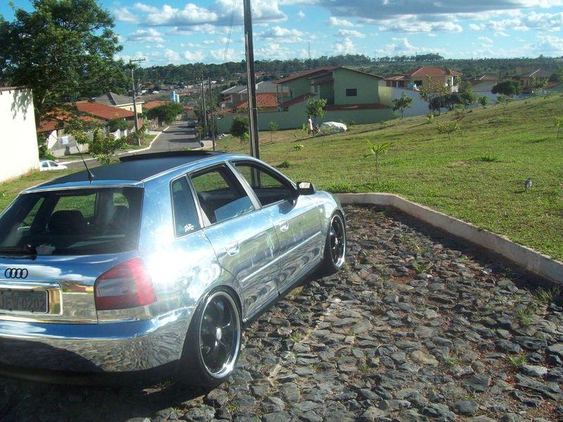 """Audi A3 cromado com rodas 19"""" - Autos Tunados"""