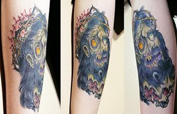 Zombie tattoo images