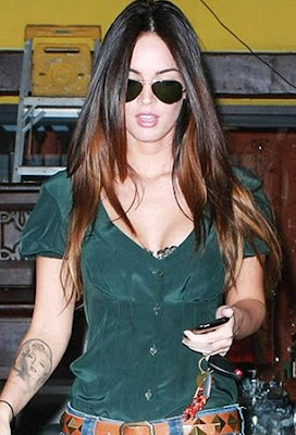 megan fox arm tattoo picture