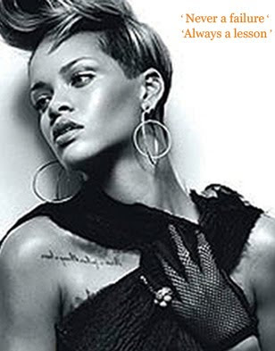rihanna new tattoo design