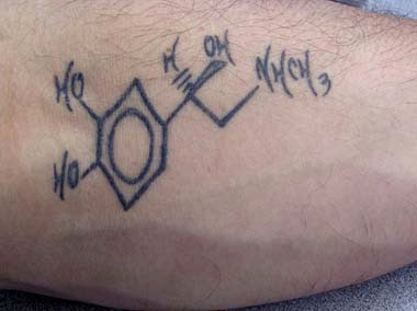Science Tattoo
