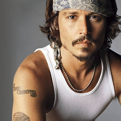 Celebrity Tattoos - Johnny Depp
