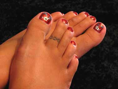 Illusion Toe Rings