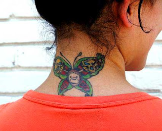 Real butterfly tattoos designs