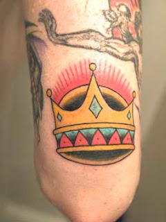 Tattoo King Crown