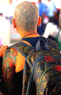 skinhead tattoo pictures