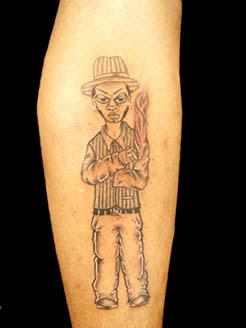 prison tattoo designs