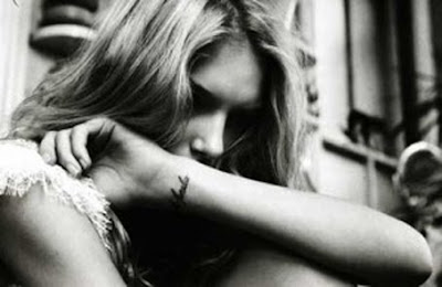 Lily Donaldson wrist tattoo