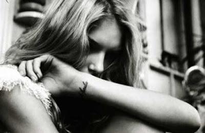 Lily Donaldson wrist tattoo