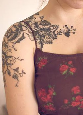 Collar Bone Tattoos