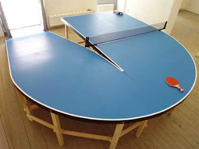 Laurent Perbos Has Designed Beautiful Series Of Unique Ping Pong Tables  That Make The Game Of Table Tennis Even More Exciting.