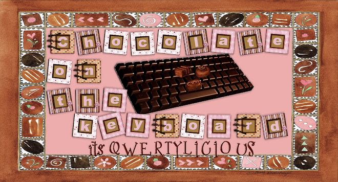Chocolate on the keyboard
