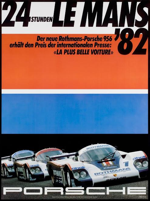 Original Steve Mcqueen Amp Porsche Race Poster