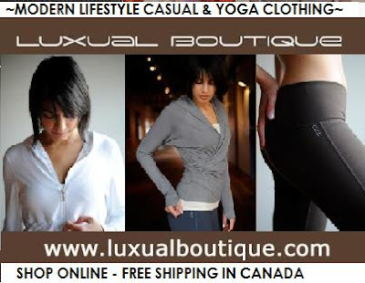 Yoga clothing canada online