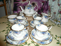 Royal Albert Moonlight Rose Teaset
