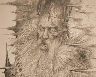 le Roi Aerys de John Howe