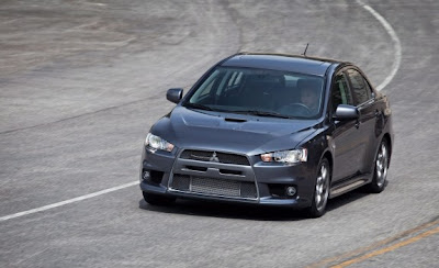 2010 Mitsubishi Lancer Evolution MR Touring in Road