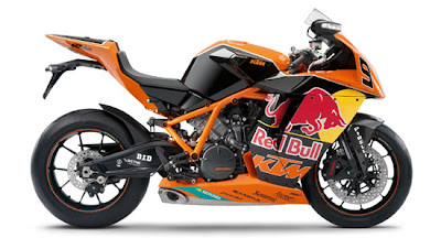 2010 KTM 1190 RC8R Red Bull Limited Edition Side View