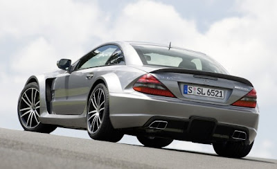 2010 Mercedes-Benz SL65 AMG Black Series Rear Angle