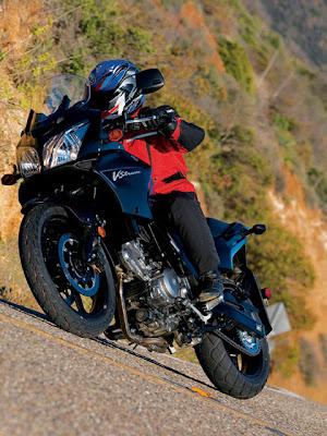 2010 Suzuki DL 650 V-Storm Test Drive