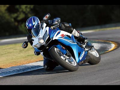 2010 Suzuki GSX-R600 Sportbike