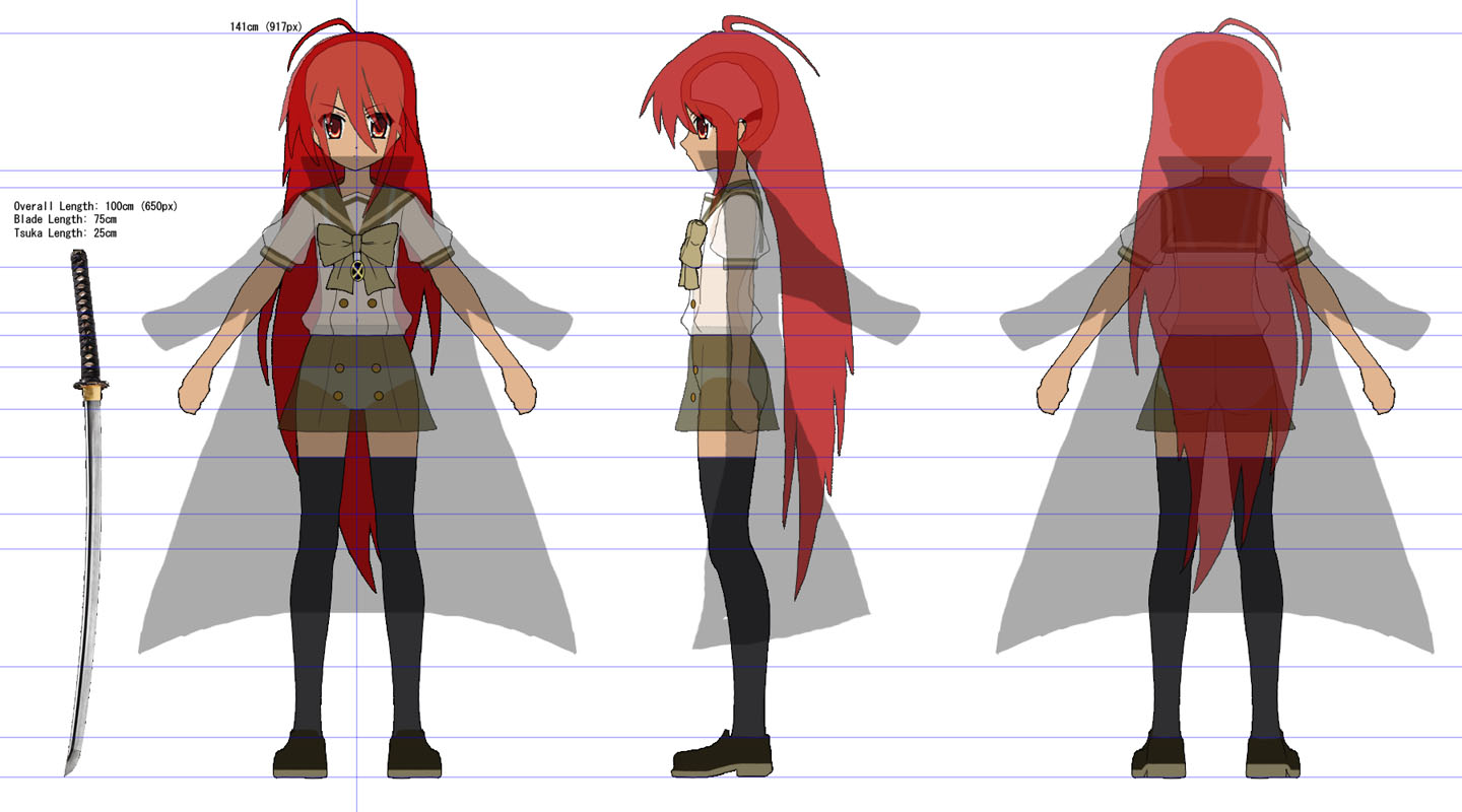 to make a 3D Shana (from1440