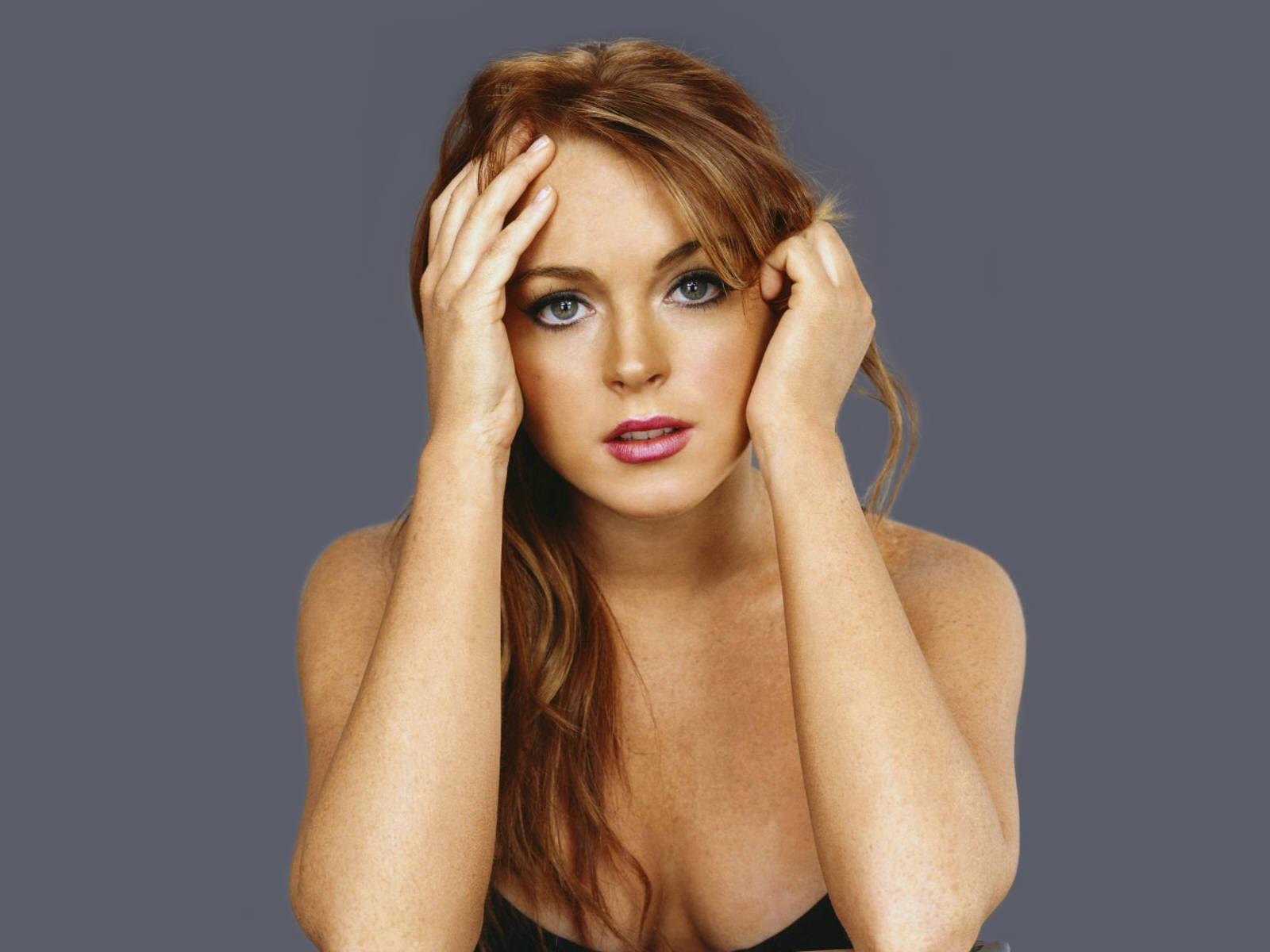 Lindsay Lohan non watermarked wallpapers at fullwalls..com