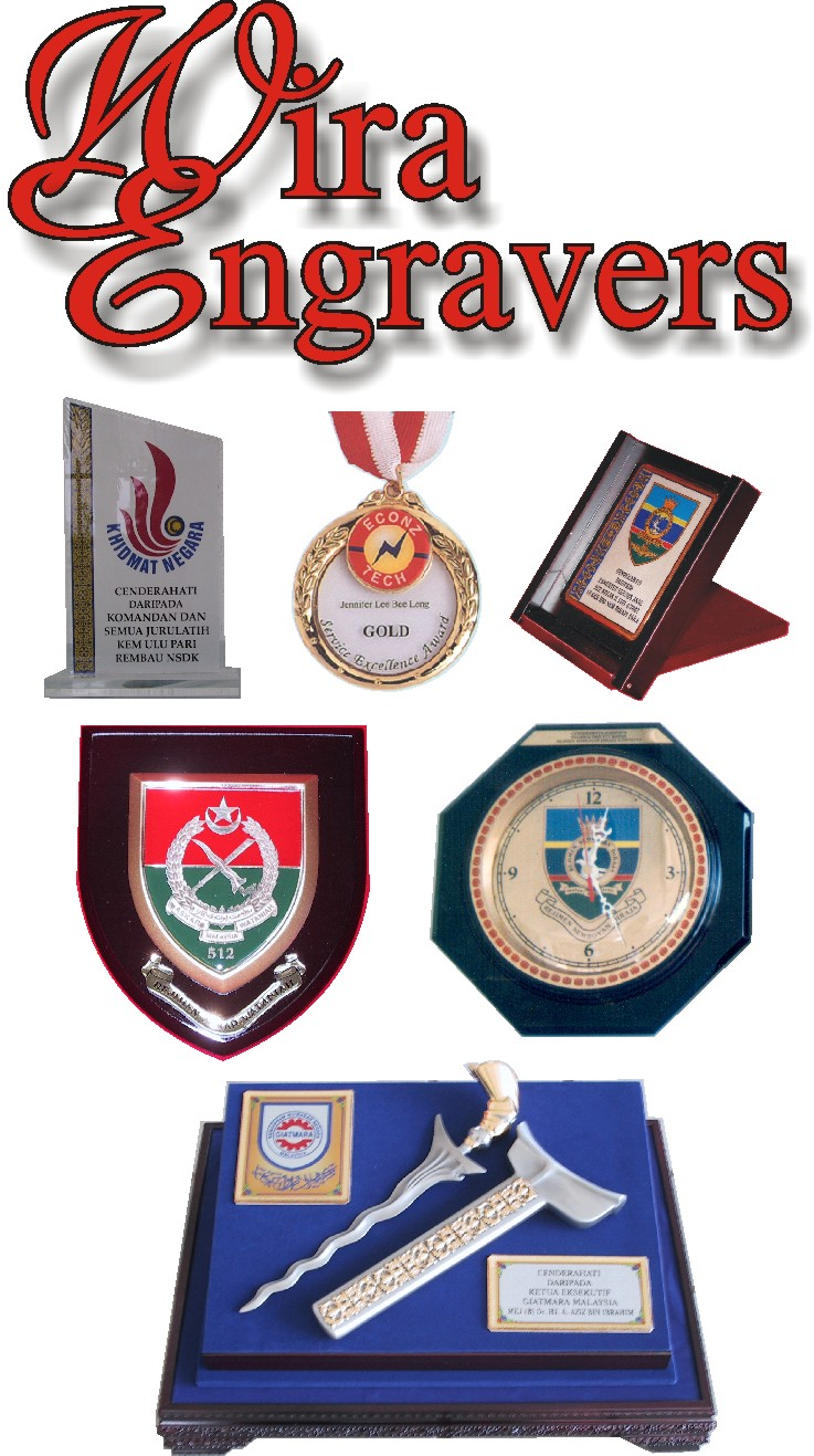 For all your souvenirs and recognition plaques