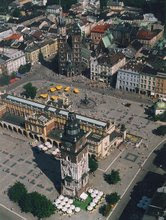 Krakow's Old Town and Square
