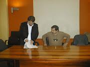 Insieme con il prof. Leonida - Sala azzurra della Provincia di Crotone - 30/12/05