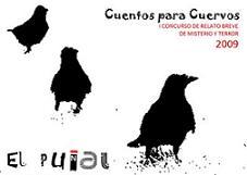 """1er Premio en el concurso """"Cuentos para Cuervos"""""""
