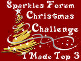 Top 3 Sparkles Christmas Challenge