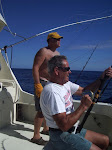 Paul reeling in wahoo