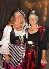 Sue & Judy at the Pirates Party