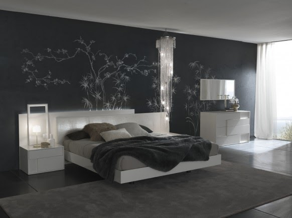 Modernes schlafzimmer dekorieren modern schlafzimmer - Hochzeit schlafzimmer dekorieren ...