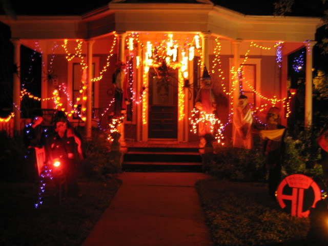 Decoracion de jardines halloween