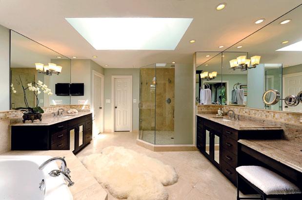 Decora tu casa fotos dise o y decoraci n de dormitorios for Banos grandes diseno