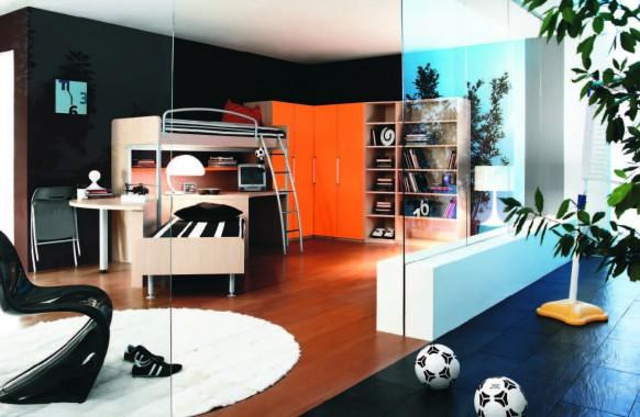 Dormitorios con temas modernos para niños y niñas. Fabulous modern ...