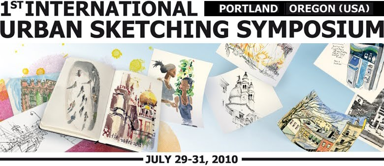 Urban Sketchers Symposium 2010: Portland, Oregon, USA
